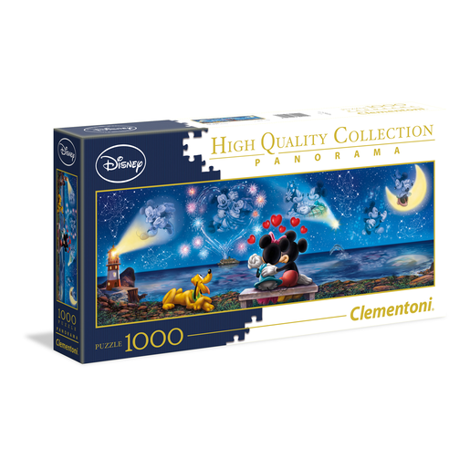 Clementoni - Mickey & Minnie Panorama Puzzle