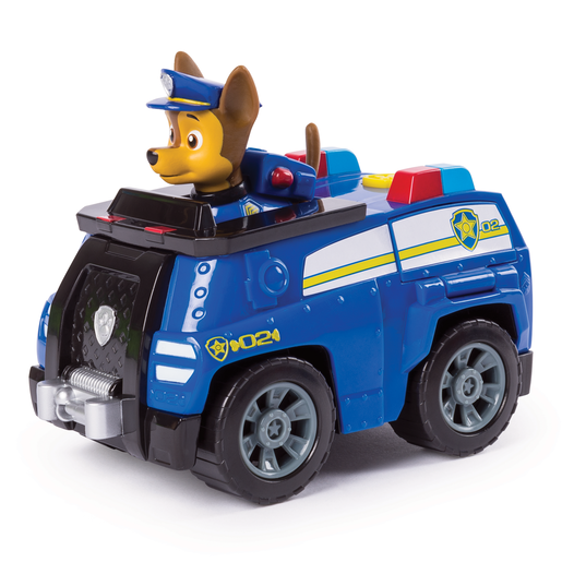 Paw Patrol Chase's Transforming Police Cruiser with Flip-open Megaphone