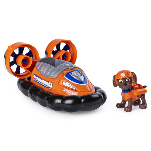 Paw Patrol Zuma's Transforming Hovercraft with Flip-open Hook