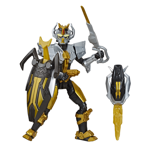 Power Rangers Beast Morphers 12cm Action Figure - Steel Robot Ranger