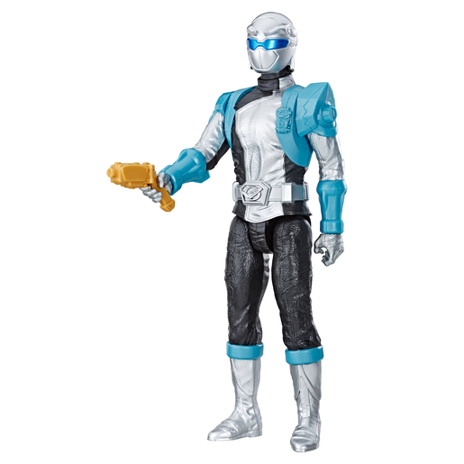 Power Rangers Beast Morphers 30cm Action Figure - Silver Ranger