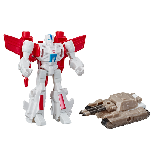 Transformers Cyberverse Battle - Jetfire and Tank Cannon