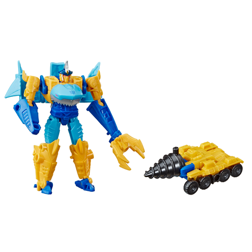 Transformers Cyberverse Battle - Skye-Byte and Driller Drive
