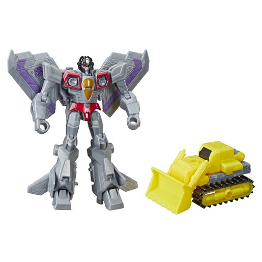 Transformers Cyberverse Battle - Starscream and Demolition Destroyer