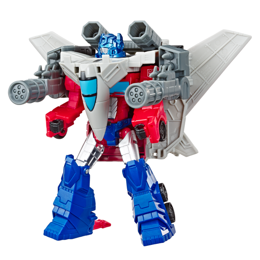 Transformers Cyberverse Power Of The Spark - Optimus Prime and Sky Turbine