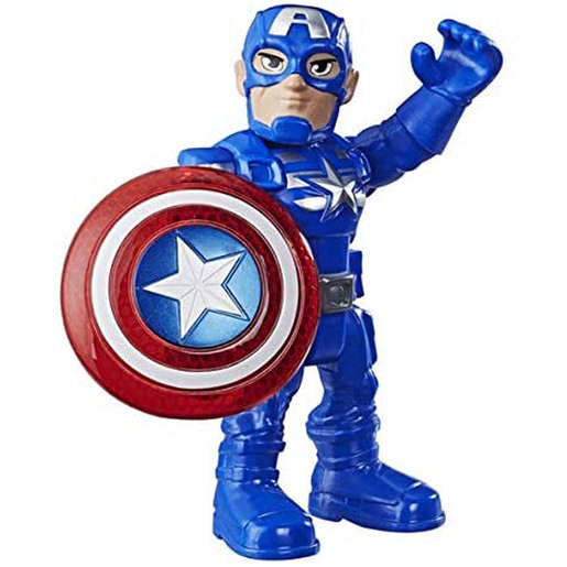 Playskool Marvel Super Hero Adventures Action Figure - Captain America