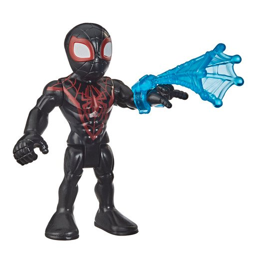 Playskool Marvel Super Hero Adventures Action Figure - Miles Morales Spider-Man