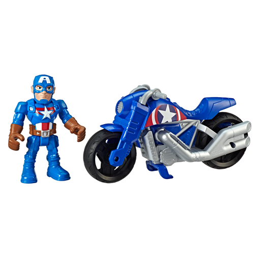 Marvel Super Hero Adventures   Captain America Victory Racer
