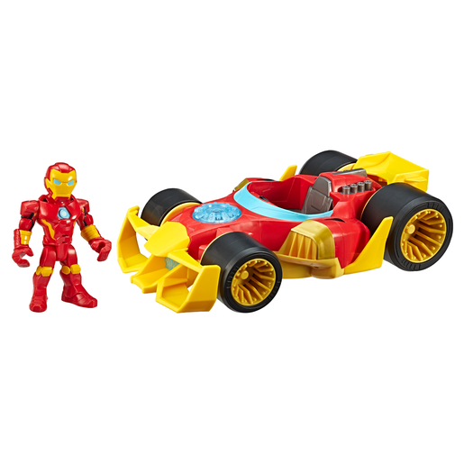 Playskool Marvel Super Hero Adventures Iron Man Speedster