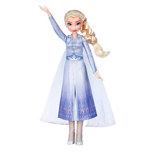 Disney Frozen 2 Singing Doll with Light-Up Dress - Elsa