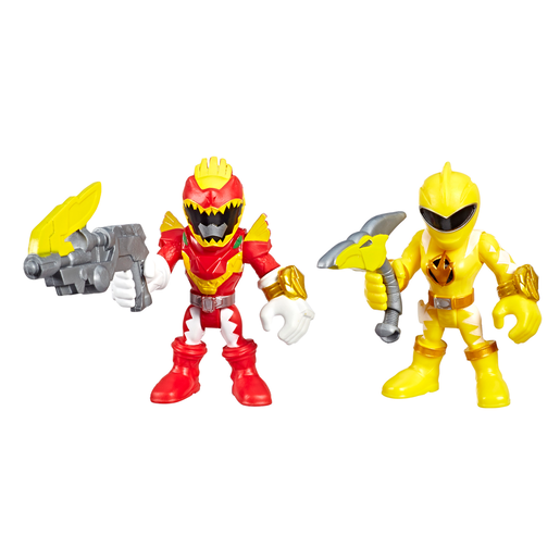 Playskool Power Rangers Figures - Red Ranger and Yellow Ranger