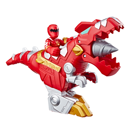 Playskool Heroes Power Rangers Ranger Figure - Red Ranger and T-Rex Zord