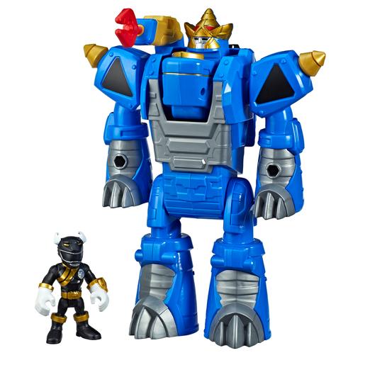 Playskool Power Rangers - Black Ranger and Rhino Power Zord