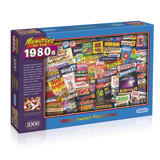 1980s Sweet Memories Jigsaw Puzzle - 1000pc