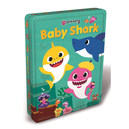 Baby Shark Tin of Books