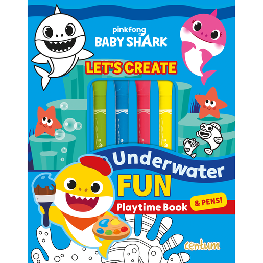 Baby Shark Underwater Fun - Let's Create