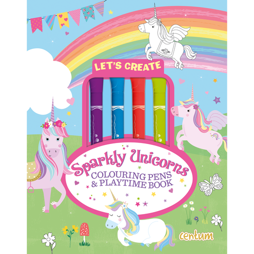 Let's Create - Sparkly Unicorns
