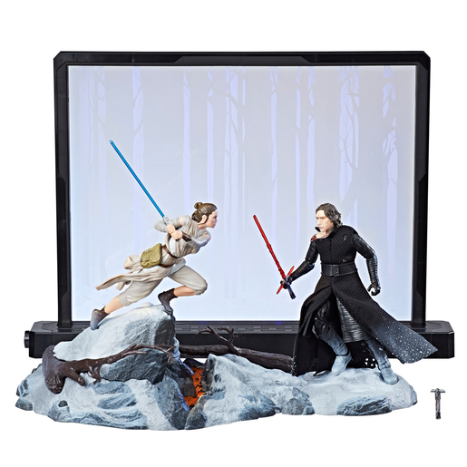 Star Wars The Black Series Centerpiece Star Wars: The Force Awakens - Rey and Kylo Ren Figure