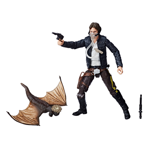 Star Wars The Black Series: The Empire Strikes Back - Han Solo with Mynock Figure