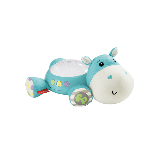 Fisher Price Cuddle Projection Soother Hippo