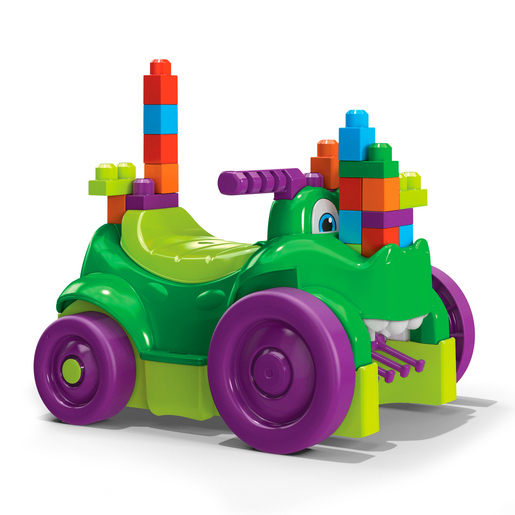Mega Bloks Ride n' Chomp Croc Ride On