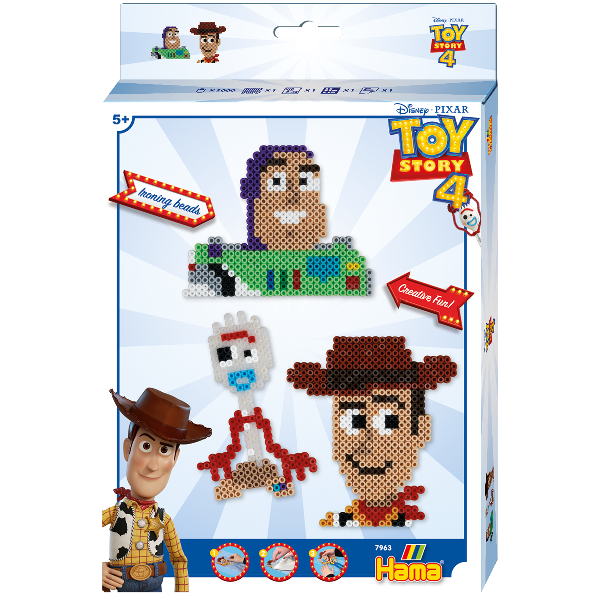 Hama Toy Story 4 Hanging Box The Entertainer