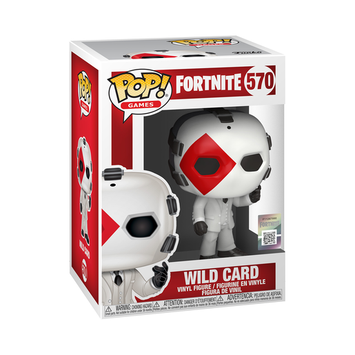 Funko Pop! Games: Fortnite - Wild Card (Diamond)