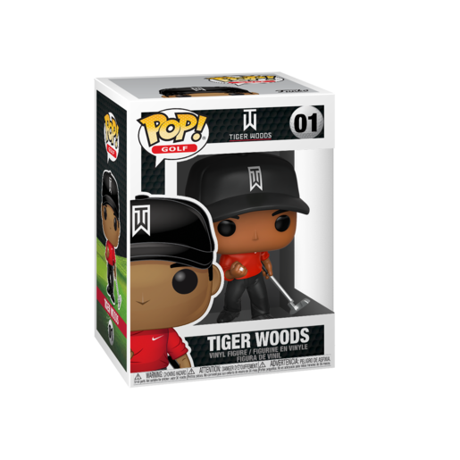 Funko Pop! Sports: Tiger Woods (Red Shirt)