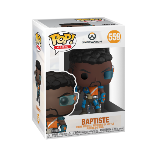 Funko Pop! Games: Overwatch - Baptiste
