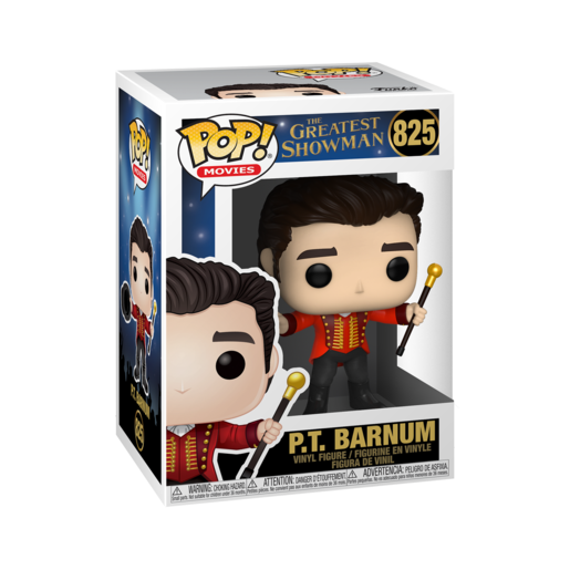Funko Pop! Movies: The Greatest Showman - P.T. Barnum