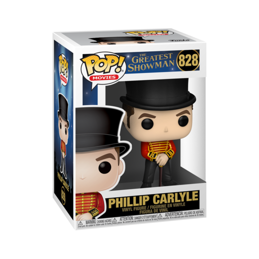 Funko Pop! Movies: The Greatest Showman - Phillip Carlyle