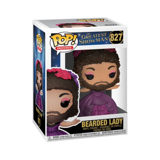 Funko Pop! Movies: The Greatest Showman - Bearded Lady
