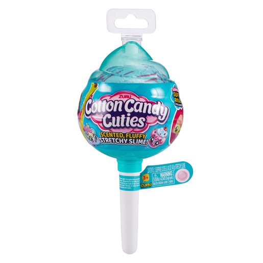 Oosh Cotton Candy Pop Scented Slime - Medium Bubble Gum