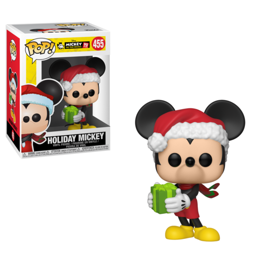 Funko Pop! Disney: Mickey's 90th Anniversary - Holiday Mickey