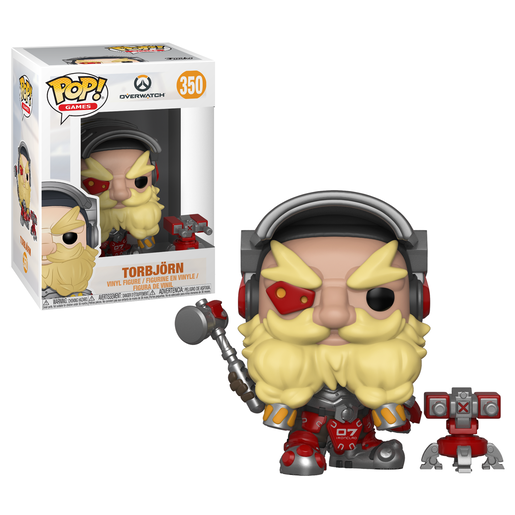 Funko Pop! Games: Overwatch Series 4 - Torbjörn