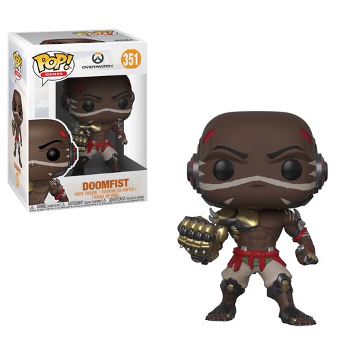 Funko Pop! Games: Overwatch Series 4 - Doomfist