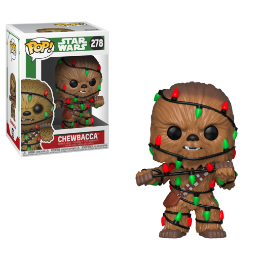 Funko Pop! Star Wars: Christmas Chewbacca
