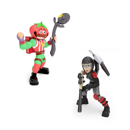 Fortnite Battle Royale 5cm Collection: Duo Pack Figures - Tomato Head and Shadow Ops