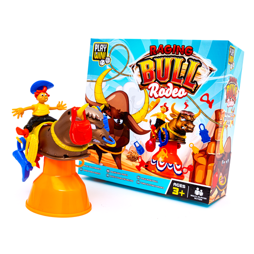 Play and Win Raging Bull Rodeo