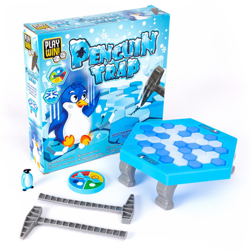 Play and Win Penguin Trap Game