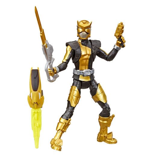 Power Rangers Beast Morphers Figures - Gold Ranger