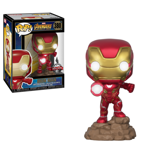 Funko Pop! Marvel: Avengers Infinity Special Edition - Iron Man