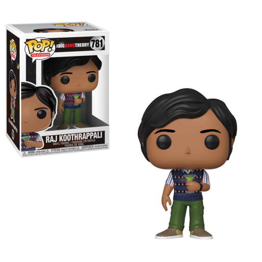 Funko Pop! Television: The Big Bang Theory - Raj