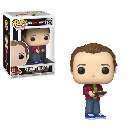 Funko Pop! Television: The Big Bang Theory - Stuart