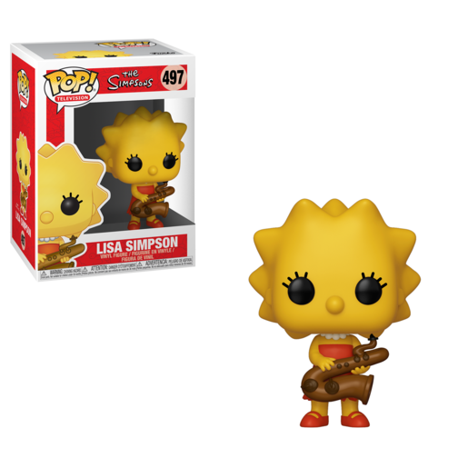 Funko Pop! Television: Simpsons - Lisa With Saxophone