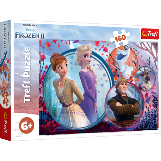 Trefl - Disney Frozen 2: Sister Adventure 160pc Puzzle