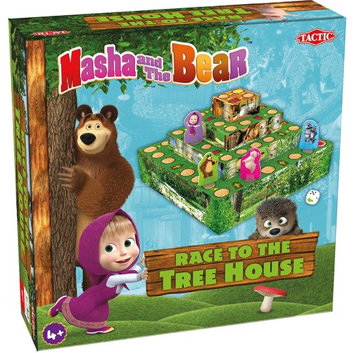 Masha Race To Treehouse Game