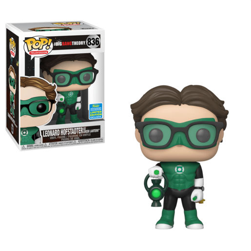 Funko Pop! Television: Big Bang Theory - Leonard Hofstadter (UK Exclusive)