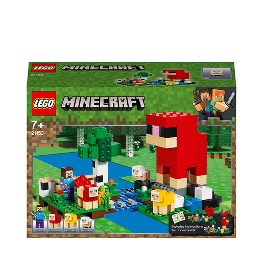 LEGO Minecraft The Wool Farm - 21153