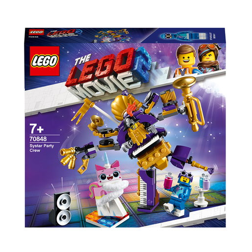 LEGO Movie 2 Systar Party Crew - 70848